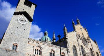 Il Duomo di Como, Palazzo Broletto e la chiesa di Sant'Abbondio