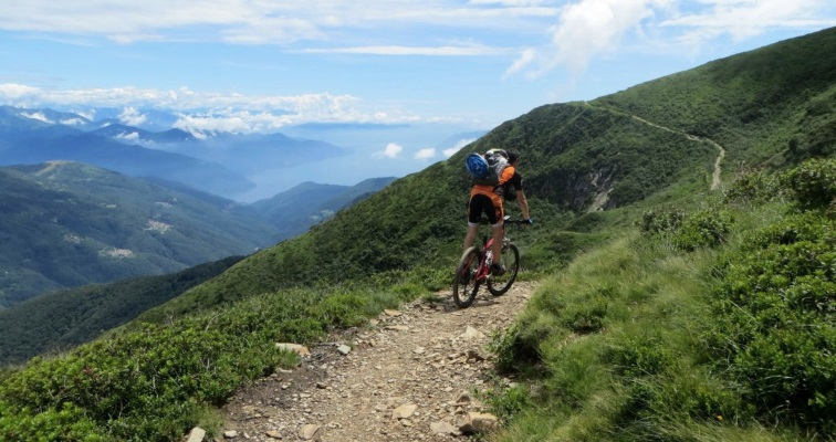 Mountain bike valle intelvi